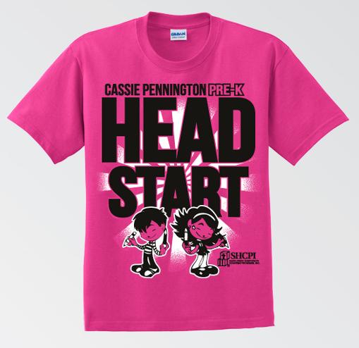 Head Start T Shirt Designs