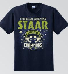 Webb Elementary STAAR T-Shirt