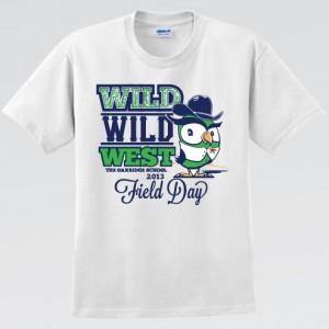 The Oakridge School Field Day T-Shirt