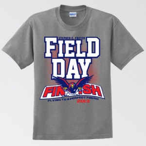 Stephen C. Foster Field Day T-Shirt