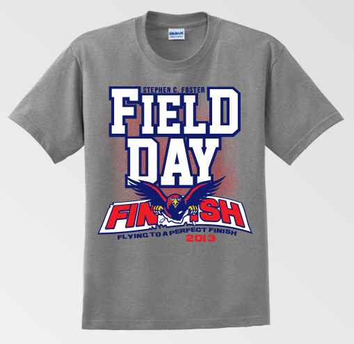 Stephen C Foster Field Day T Shirt Mbenjamin Designs
