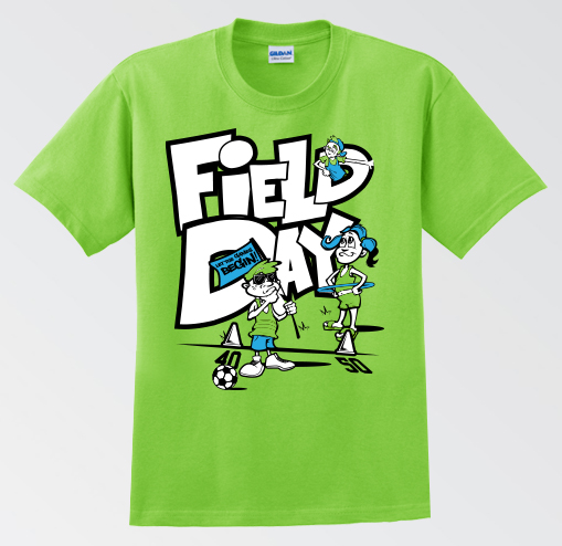 Field Day Shirt Designs Elementary